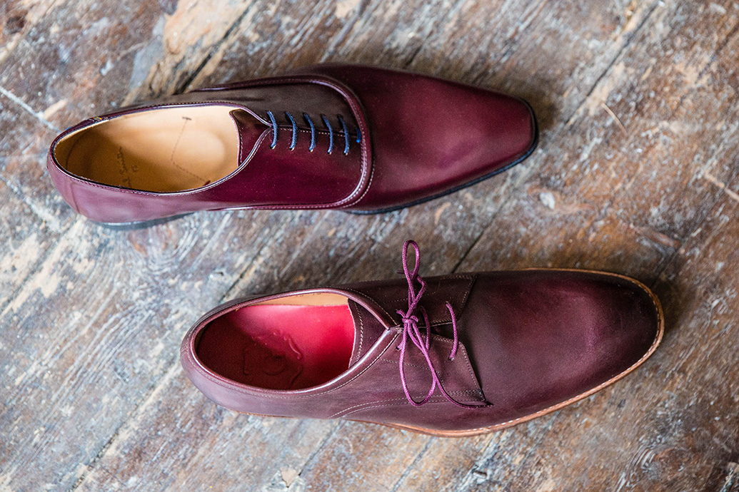 One small change: Wear round-toe smart shoes