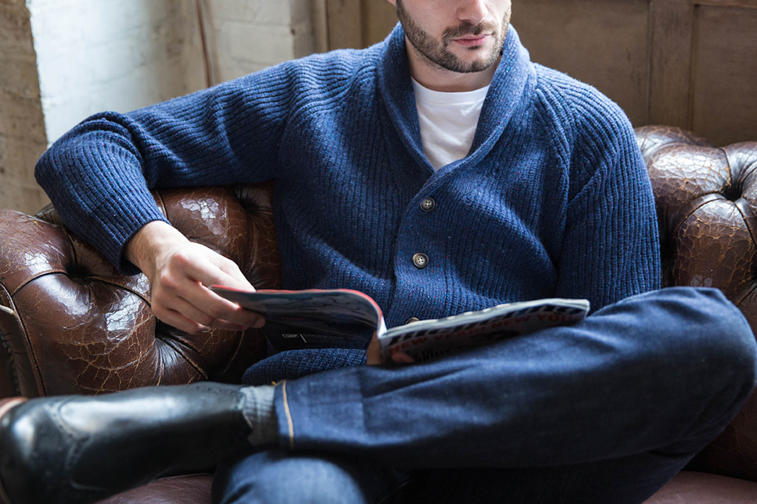 What exactly are: Shawl collar cardigans?