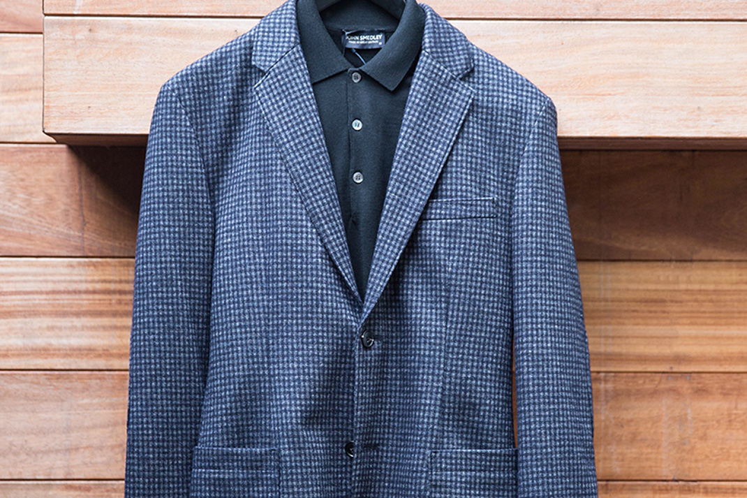 Q&A: I'm sick of my shirts. What else goes with a blazer or suit?