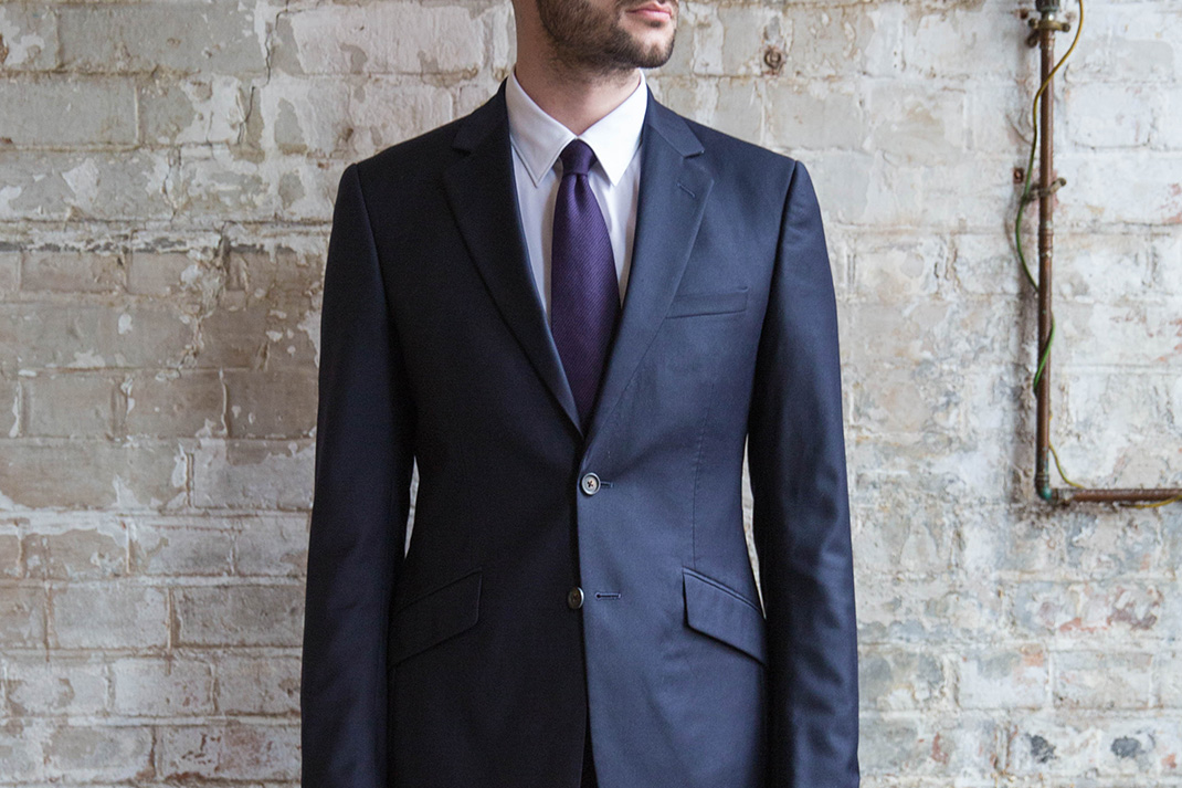 How to: Wear a slim-fit suit