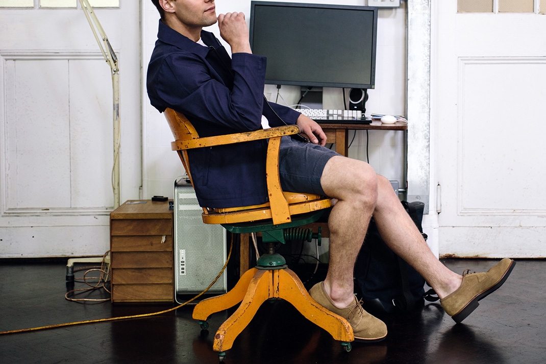 Q&A: What's the secret to wearing shorts at work?