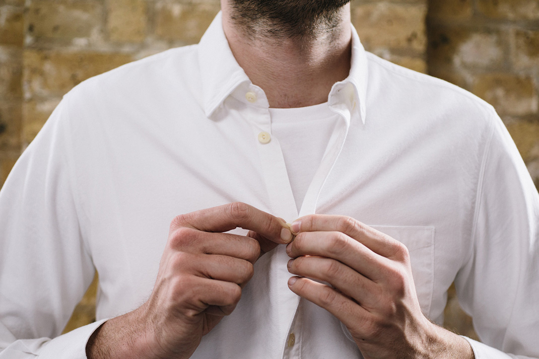 Q&A: Should I ever wear a t-shirt under a shirt?