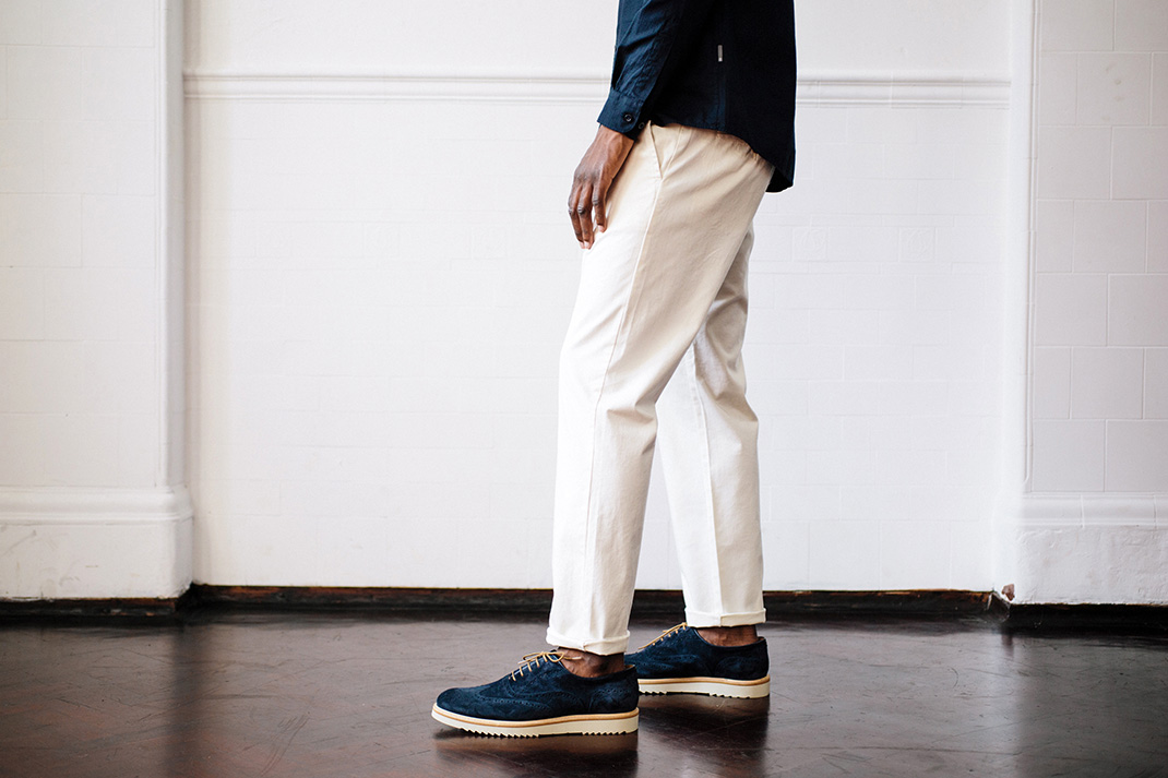 Q&A: Are almost-white trousers a style staple or best avoided?