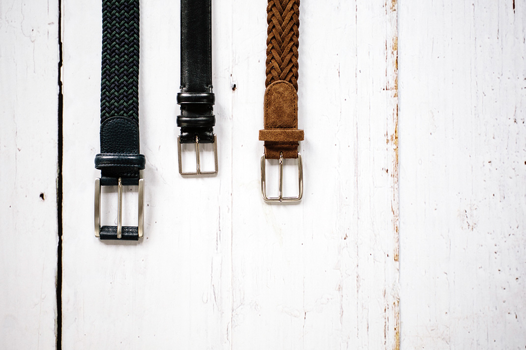 What to look for in: A good belt