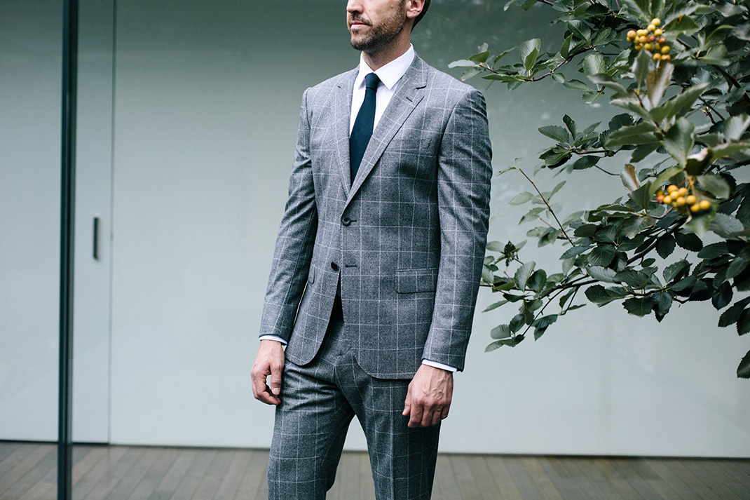 Making the case for: A check suit