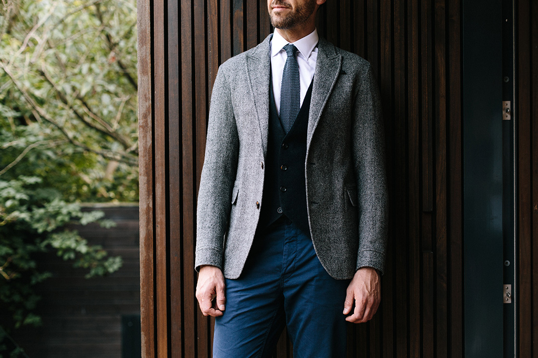 How to: Wear a waistcoat without a suit