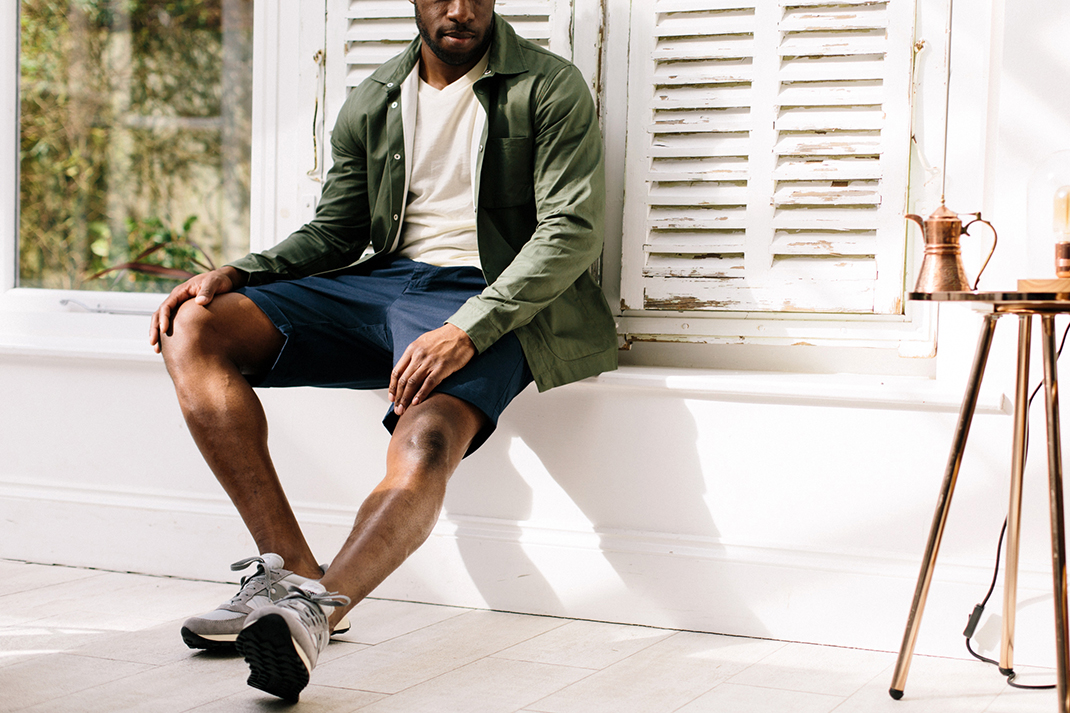 How to: Wear chino shorts, five ways