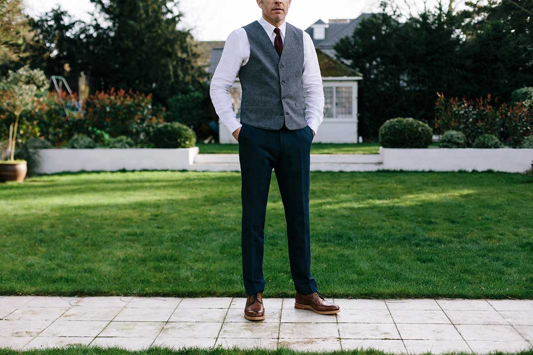 Do I have to wear a suit to a wedding?