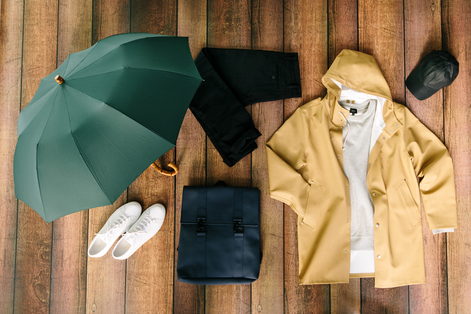 How to dress for rain