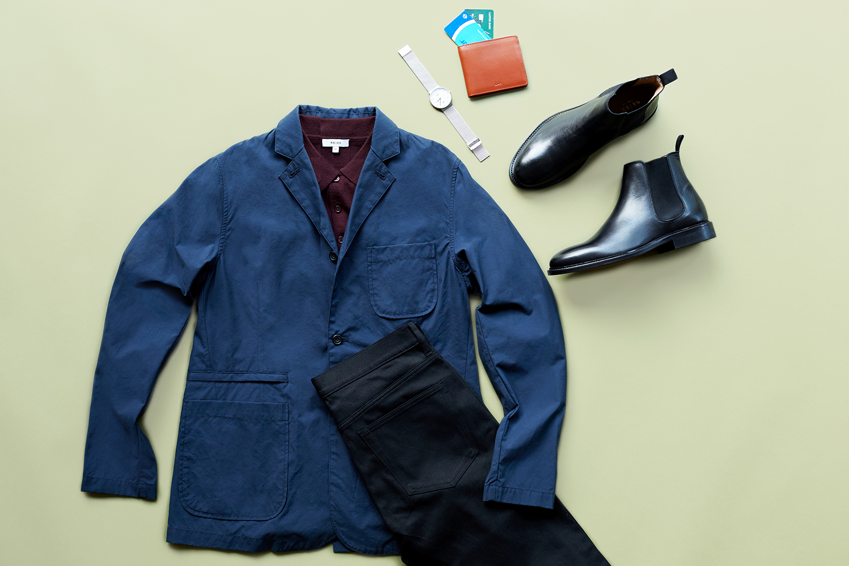 Smart-casual outfit