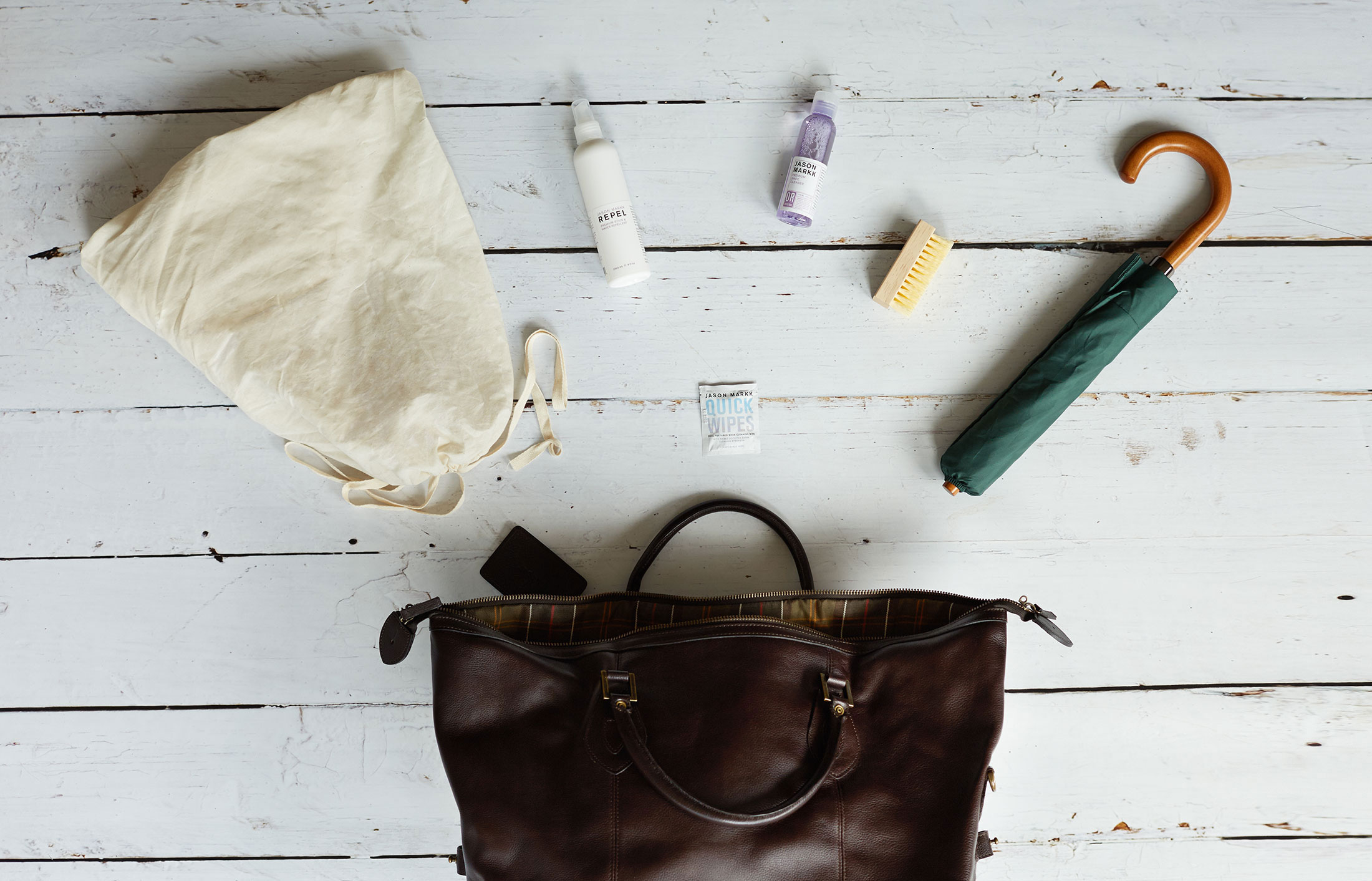 How to look after a leather bag