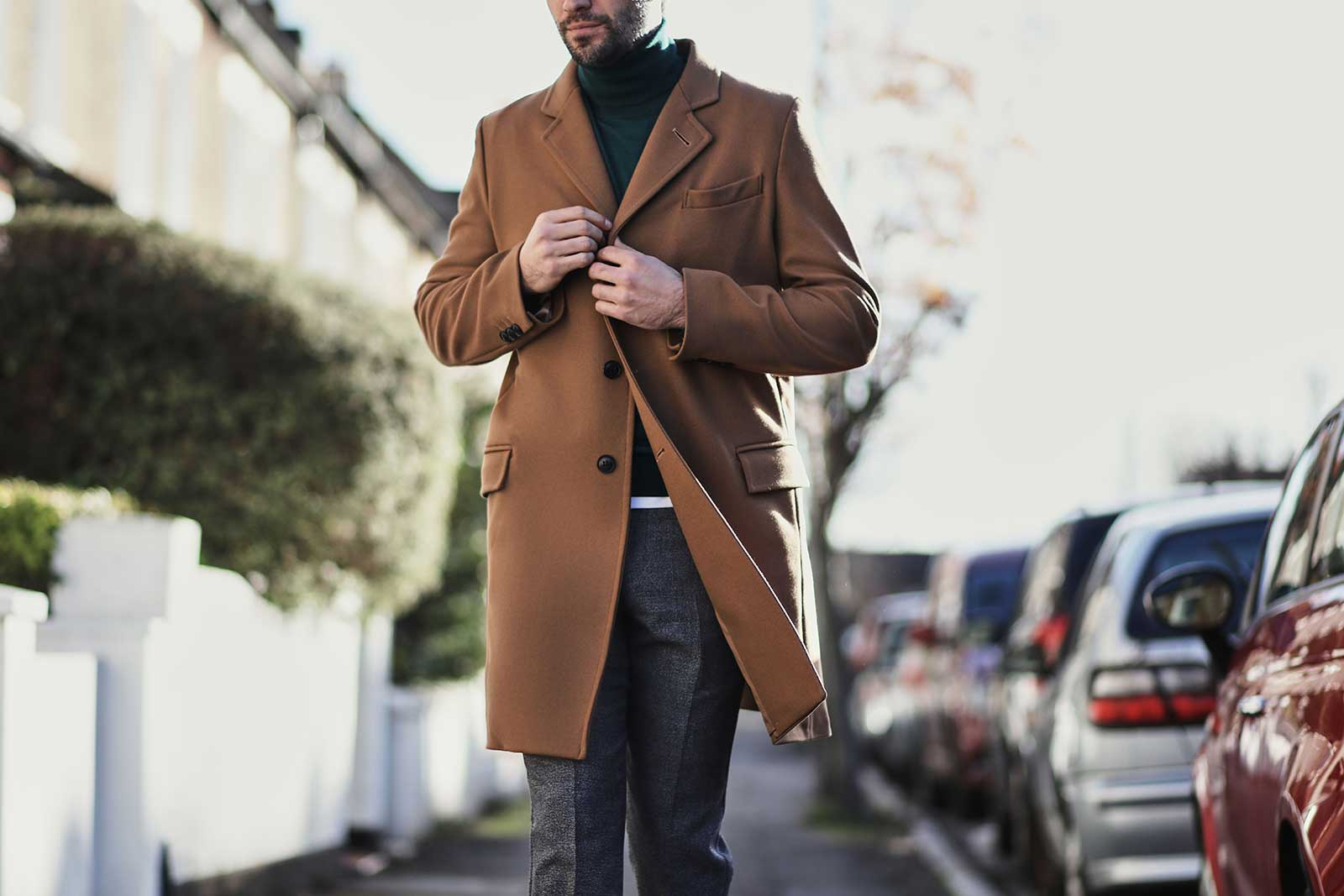 Overcoat for a date night