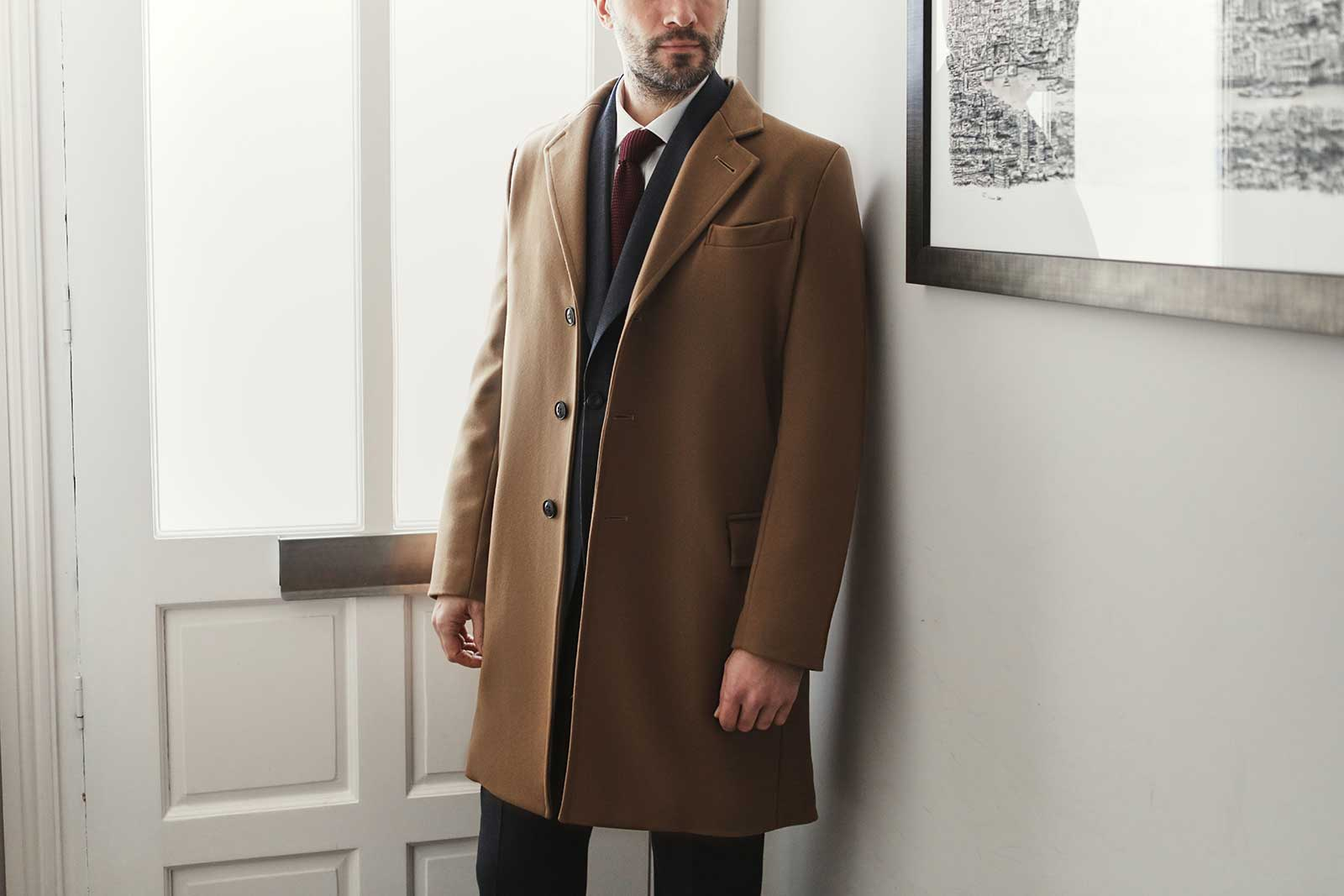 Overcoat for an office