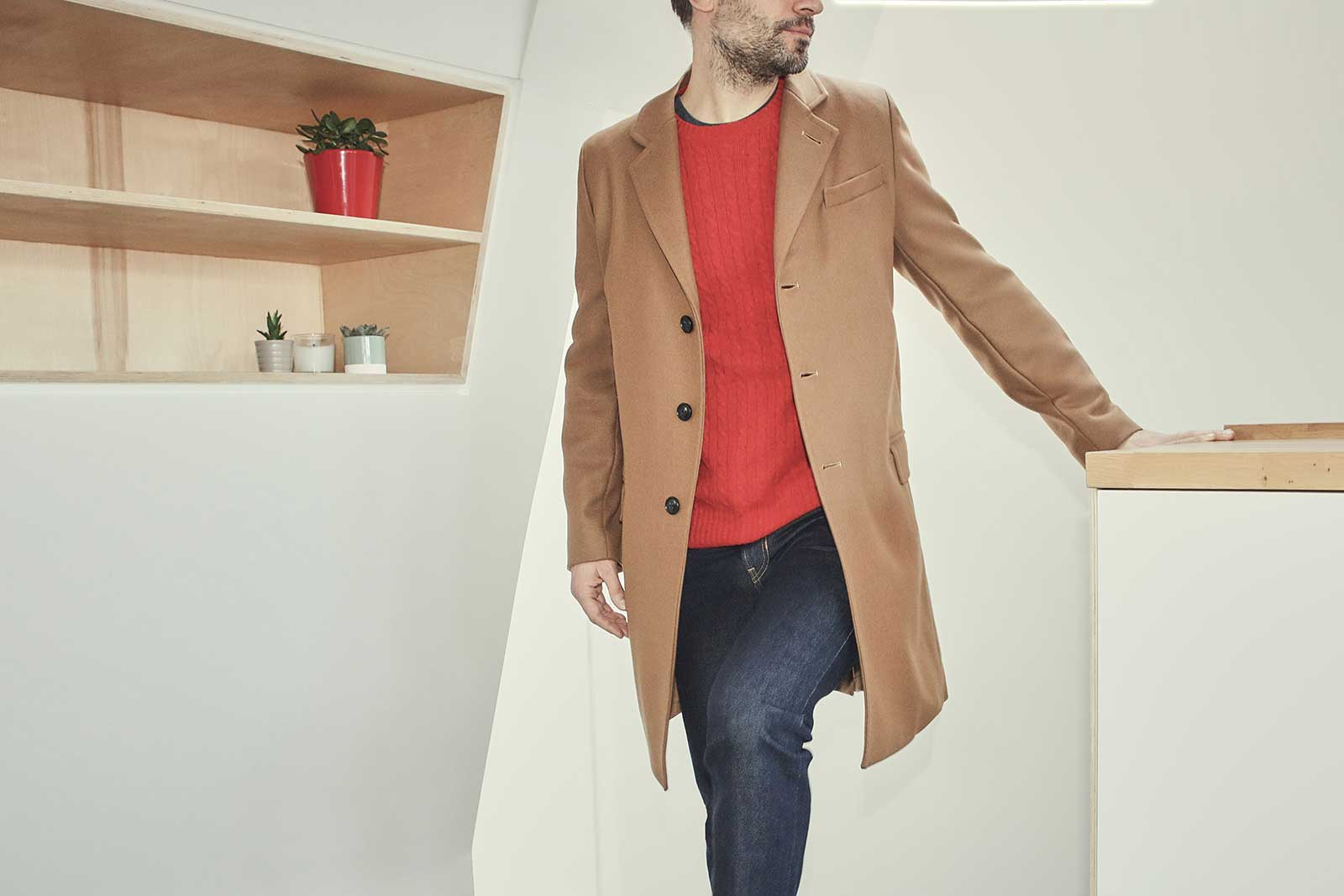 Overcoat for the pub