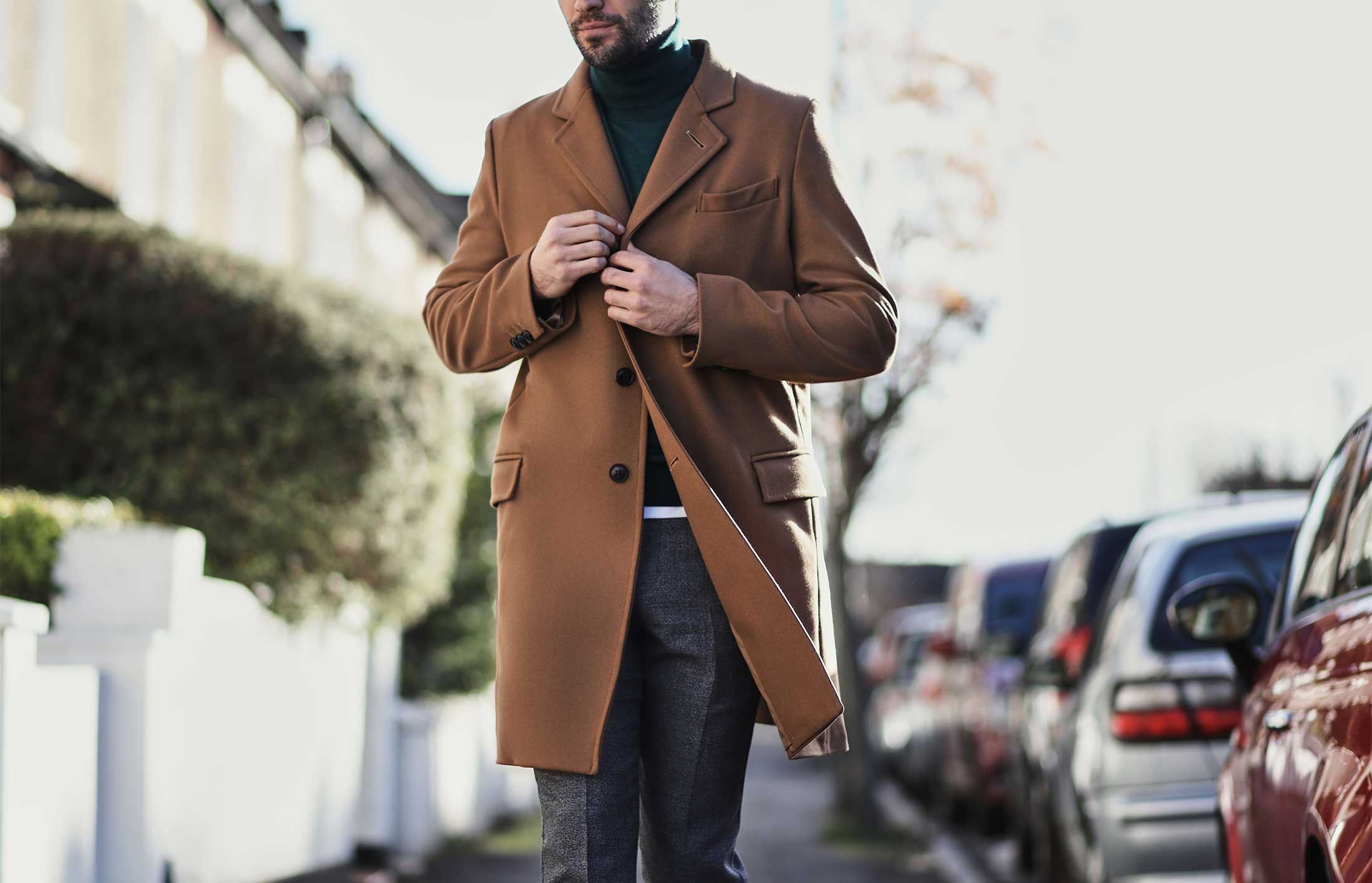 Four ways to wear an overcoat