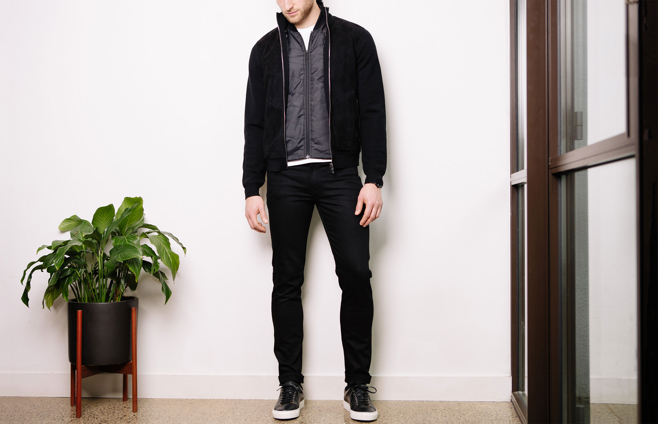 How to wear all-black without looking boring