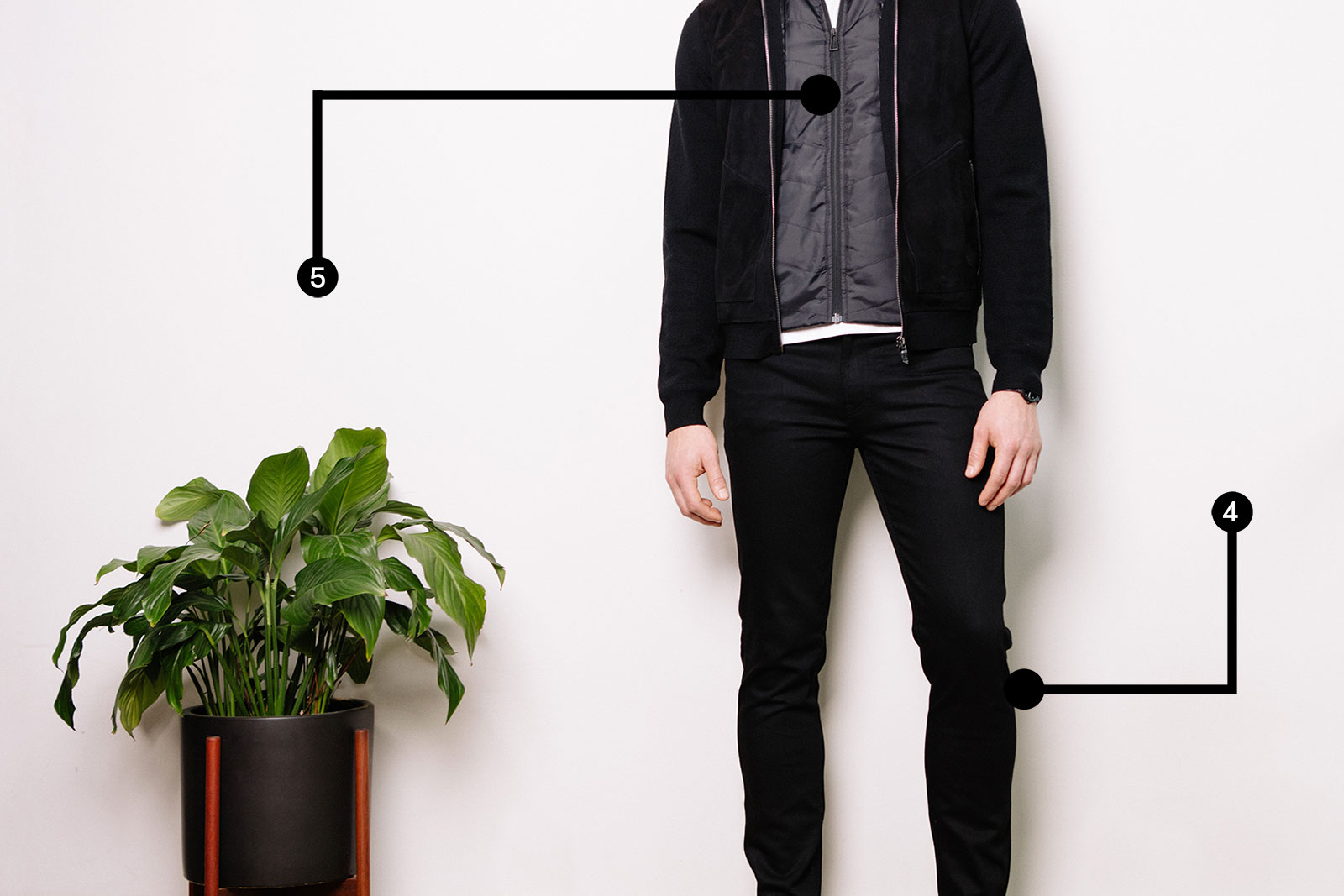 How to wear all-black
