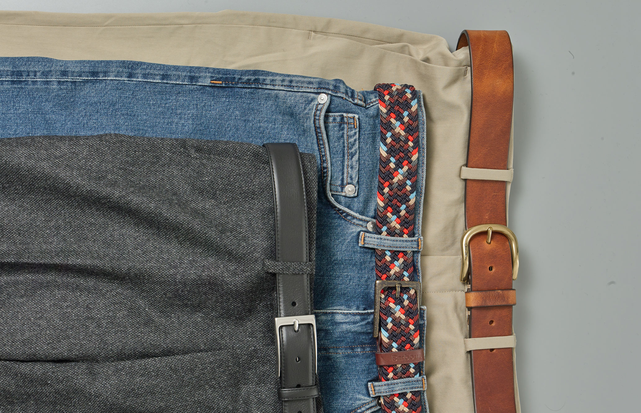 How to match your belt and trousers