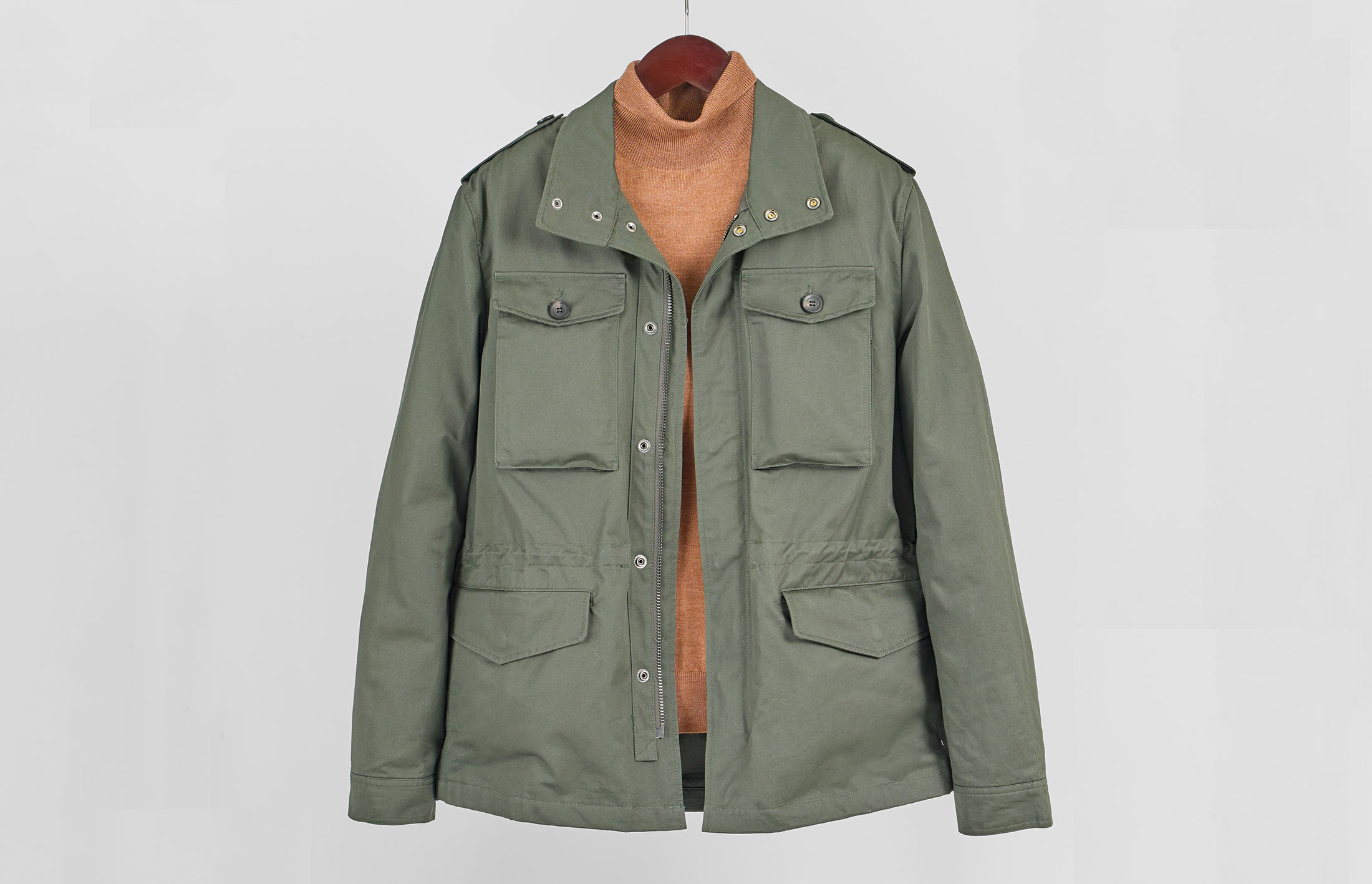 What is a field jacket?