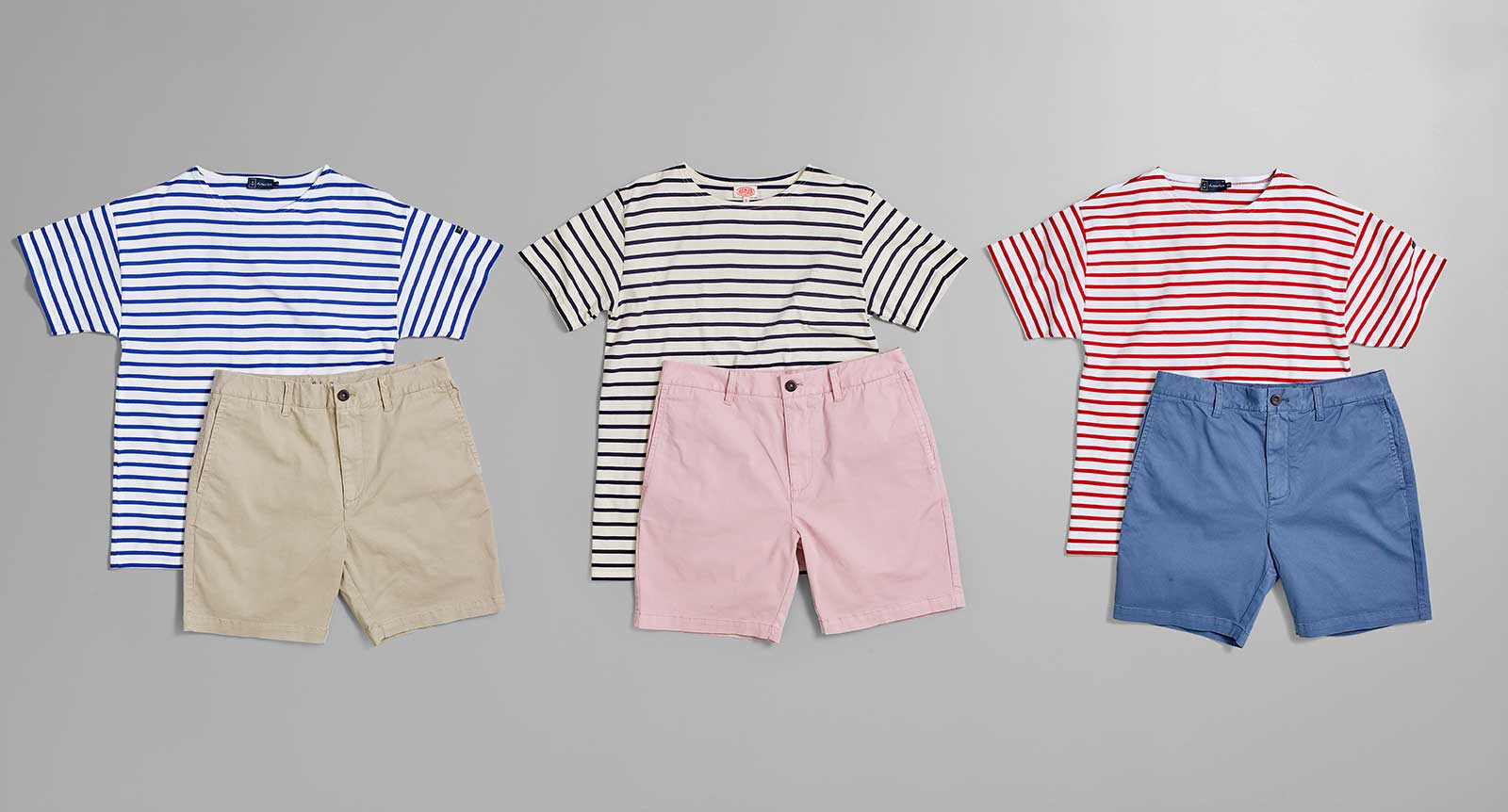Breton and shorts