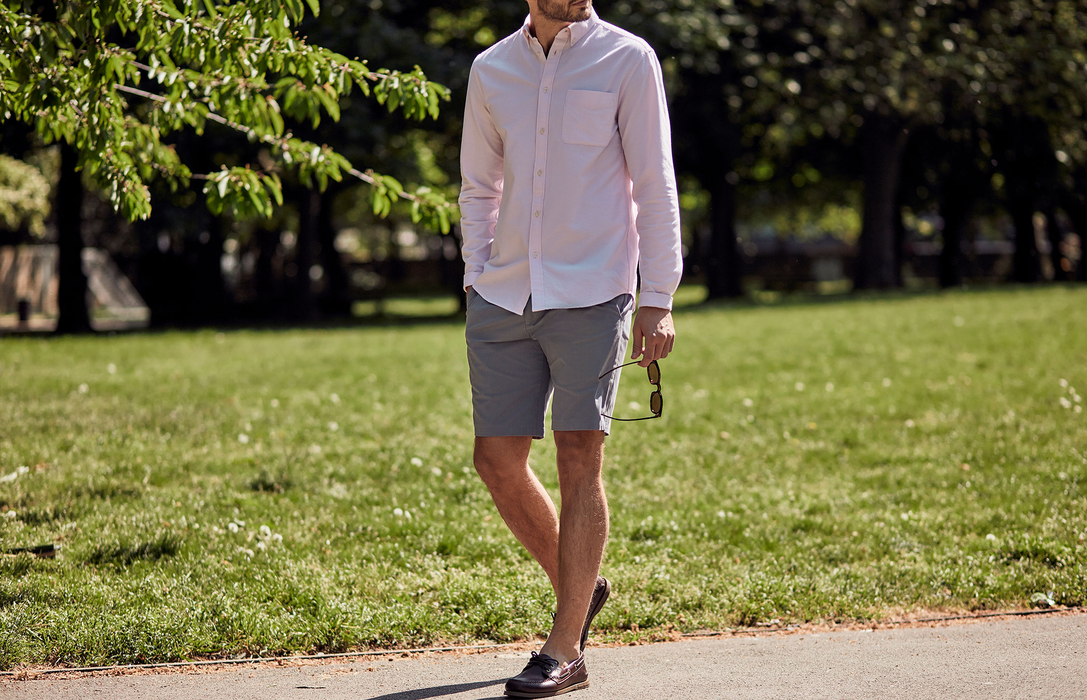 Four ways to wear tailored shorts