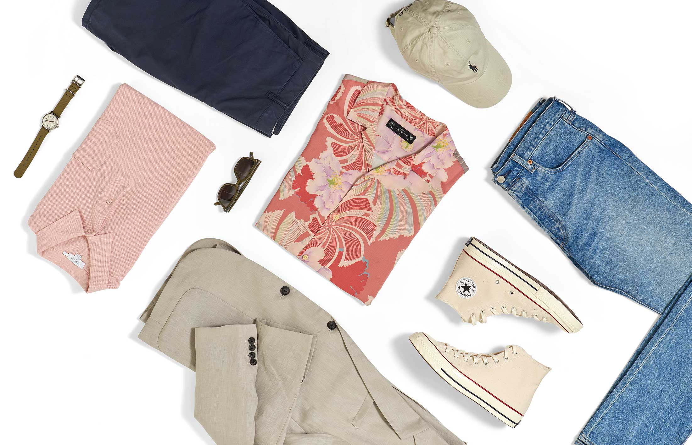 Four ways to wear five summer staples