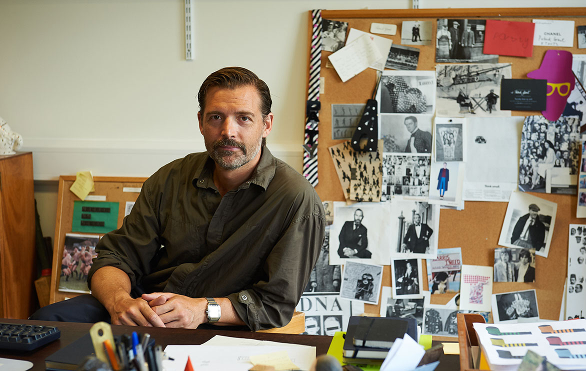 "Patrick Grant: ""Men want to wear interesting and fun clothes"""