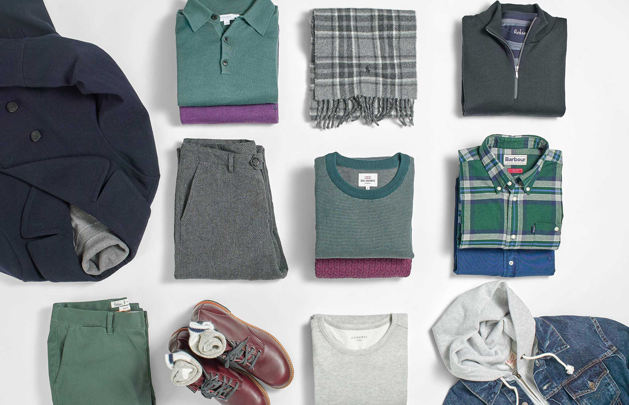 The perfect capsule wardrobe for autumn