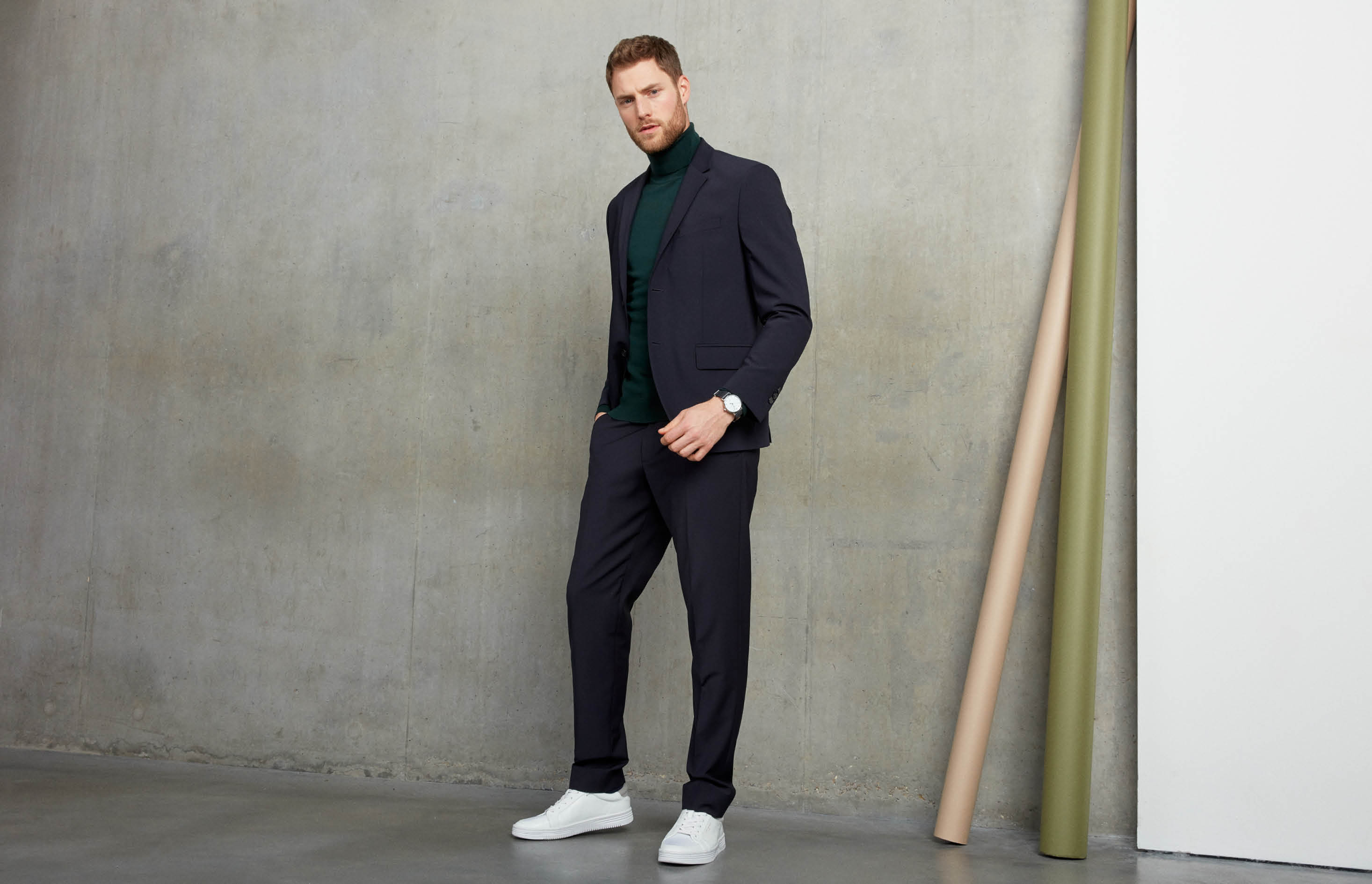 New ways to wear your old suits