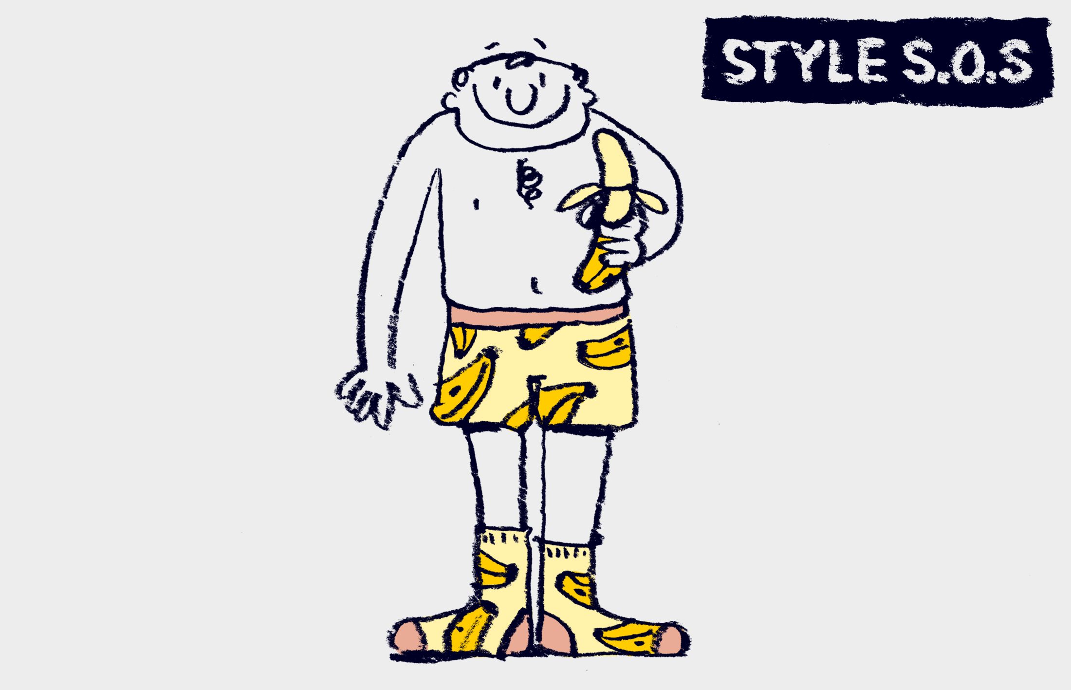 Style SOS: How do you match underwear and socks?