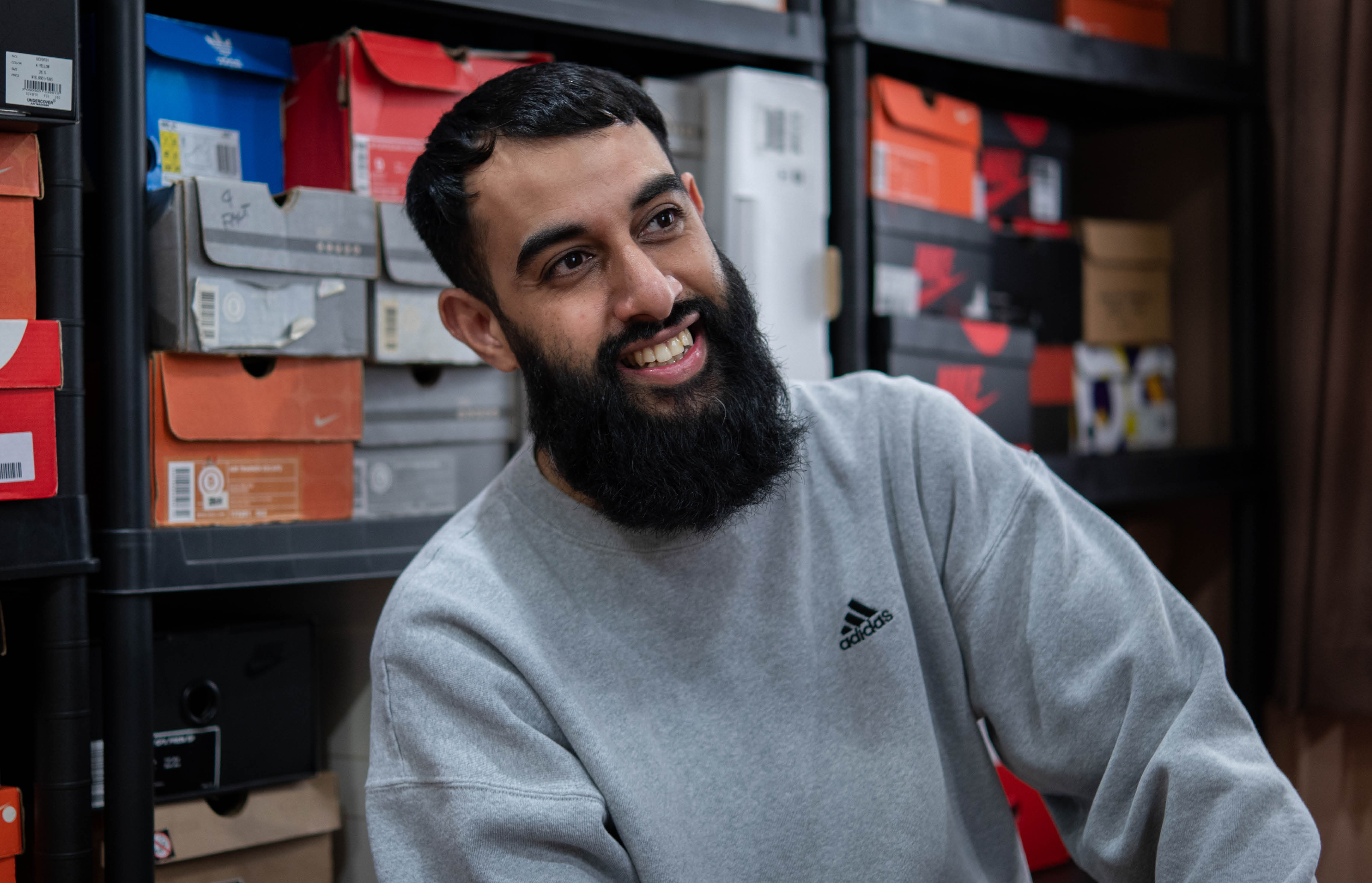 Meet the men who make thousands selling second-hand trainers