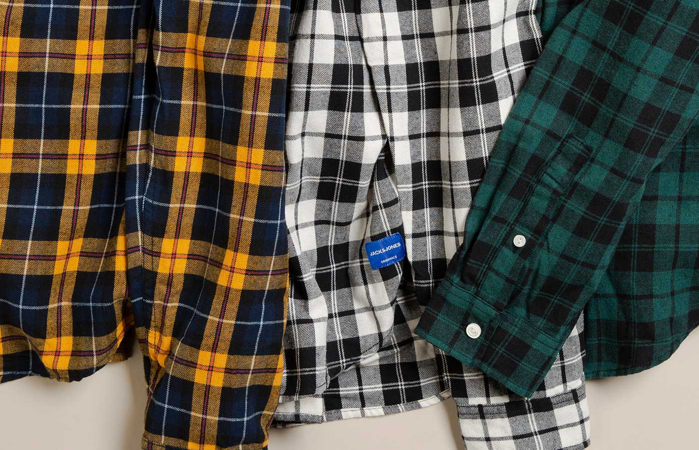 Hooray, it's checked shirt season