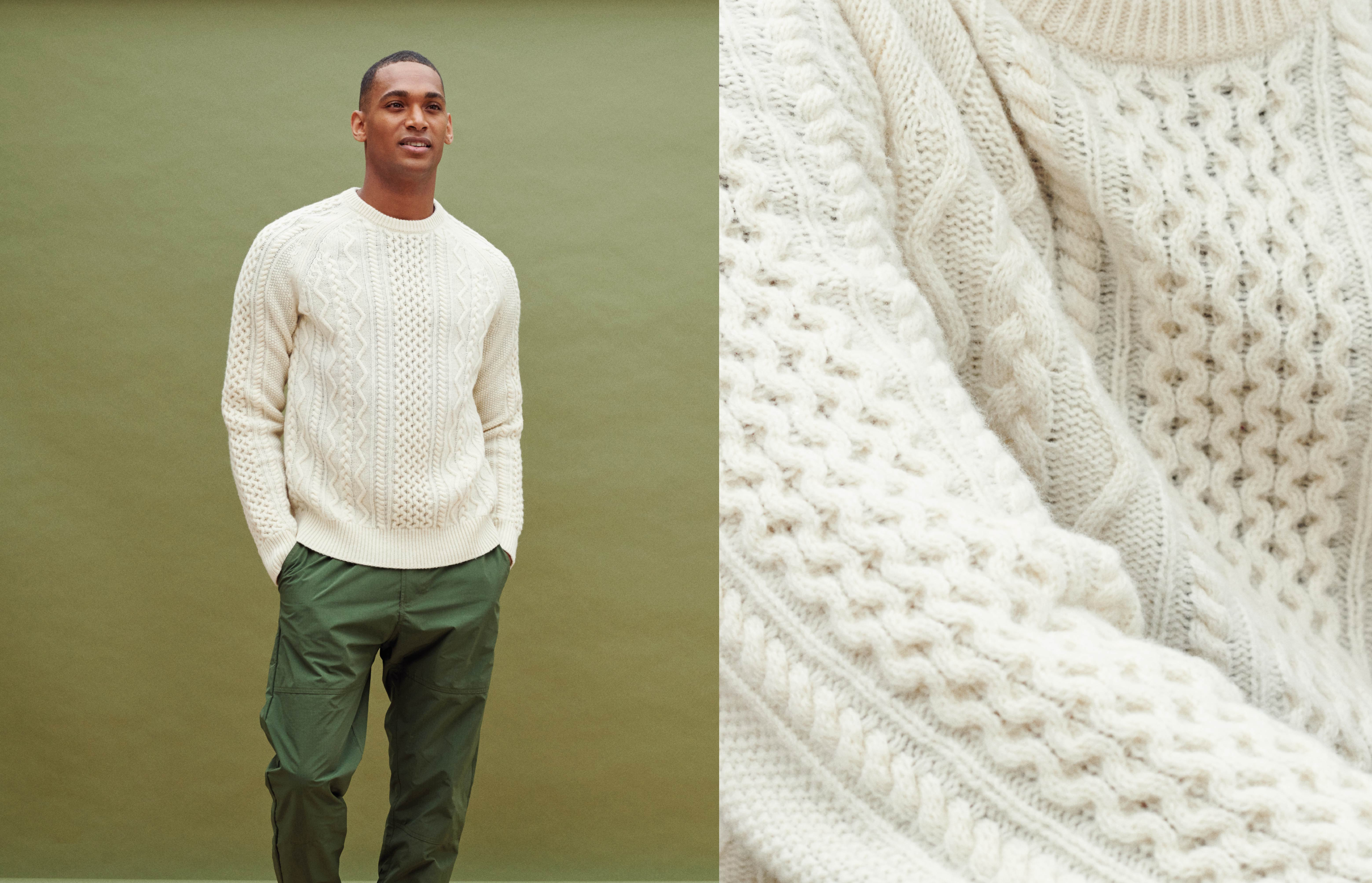 Why you need a fisherman's knit
