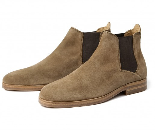 Tonti Suede Tobacco Chelsea Boot by