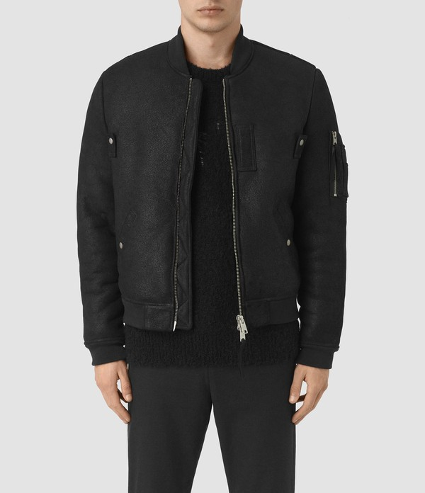 71ee41ae9a9 Kio Shearling Bomber Jacket by AllSaints