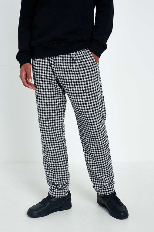 b5833a03d0d5f Pino Black and White Check Trousers by So... — Thread