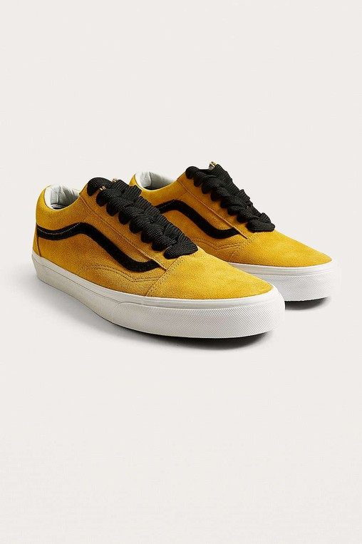 Old Skool Suede Porcini Trainers by