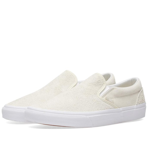 Classic Slip On Hairy Suede by Vans