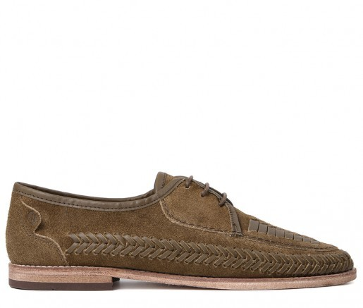e39640824d7f Anfa Suede Tobacco Shoe by Hudson Shoes — Thread