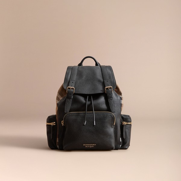 60685b04c4 The Large Rucksack in Grainy Leather and ... — Thread