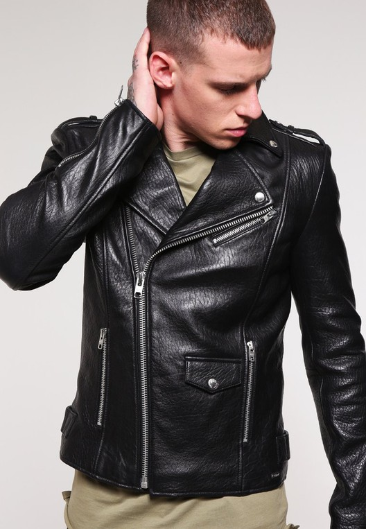 3f5d1b604 LEW BUBBLY - Leather jacket by Tigha