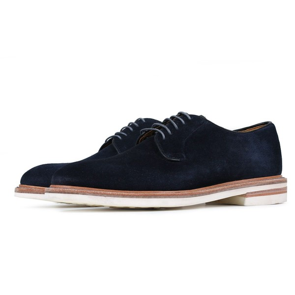e87261a615 Tenby Navy - Suede Derby Shoe by Oliver S... — Thread