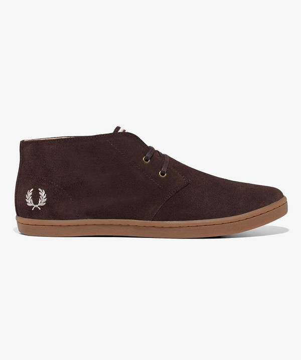 9810e72f302 Byron Mid Suede Shoes by Fred Perry