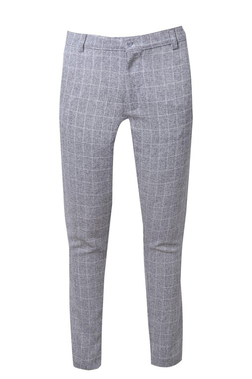 7a0dfd459ab4 Skinny Fit Window Pane Check Suit Trouser... — Thread