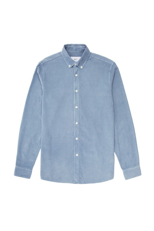 370cbb0de26e Bampton Shirt Cornflower Blue by Wax London — Thread
