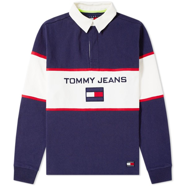 c0845732 5.0 90s Blocked Rugby Shirt by Tommy Jeans — Thread