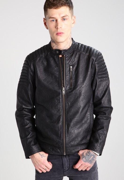 f1598d93d75 SHXLIMA - Leather jacket by Selected Homme