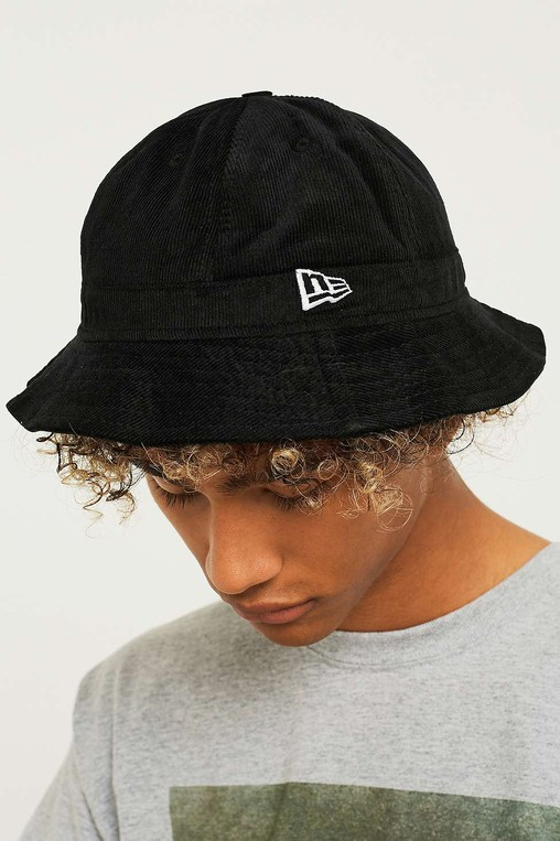 fb82f4f0b4 Corduroy Black Bucket Hat by New Era — Thread