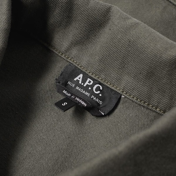 A P C  Denim Career Jacket by A P C