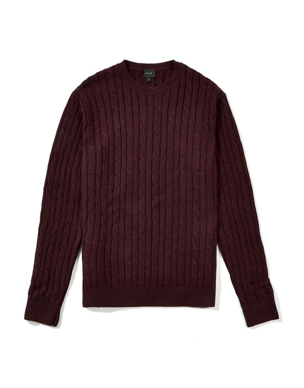 70f487f2238 Hainton Cotton Cable Knit Jumper by MVP